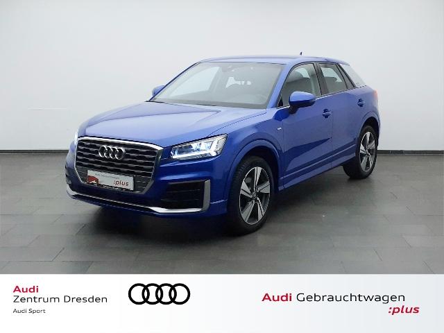 Audi Q2 1.6 TDI sport S-line LED-SW Ext./ACC, Jahr 2016, Diesel