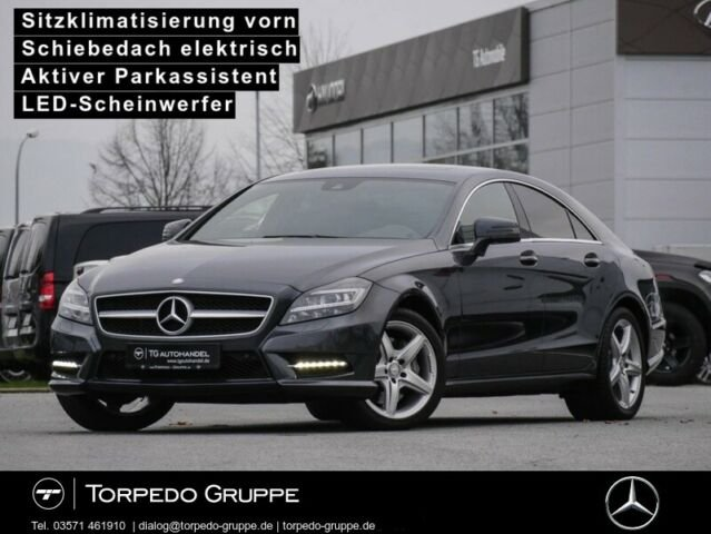 Mercedes-Benz CLS 350 BE COUPÉ AMG COMAND+AIRMATIC+LEDER+SOUND, Jahr 2012, Benzin
