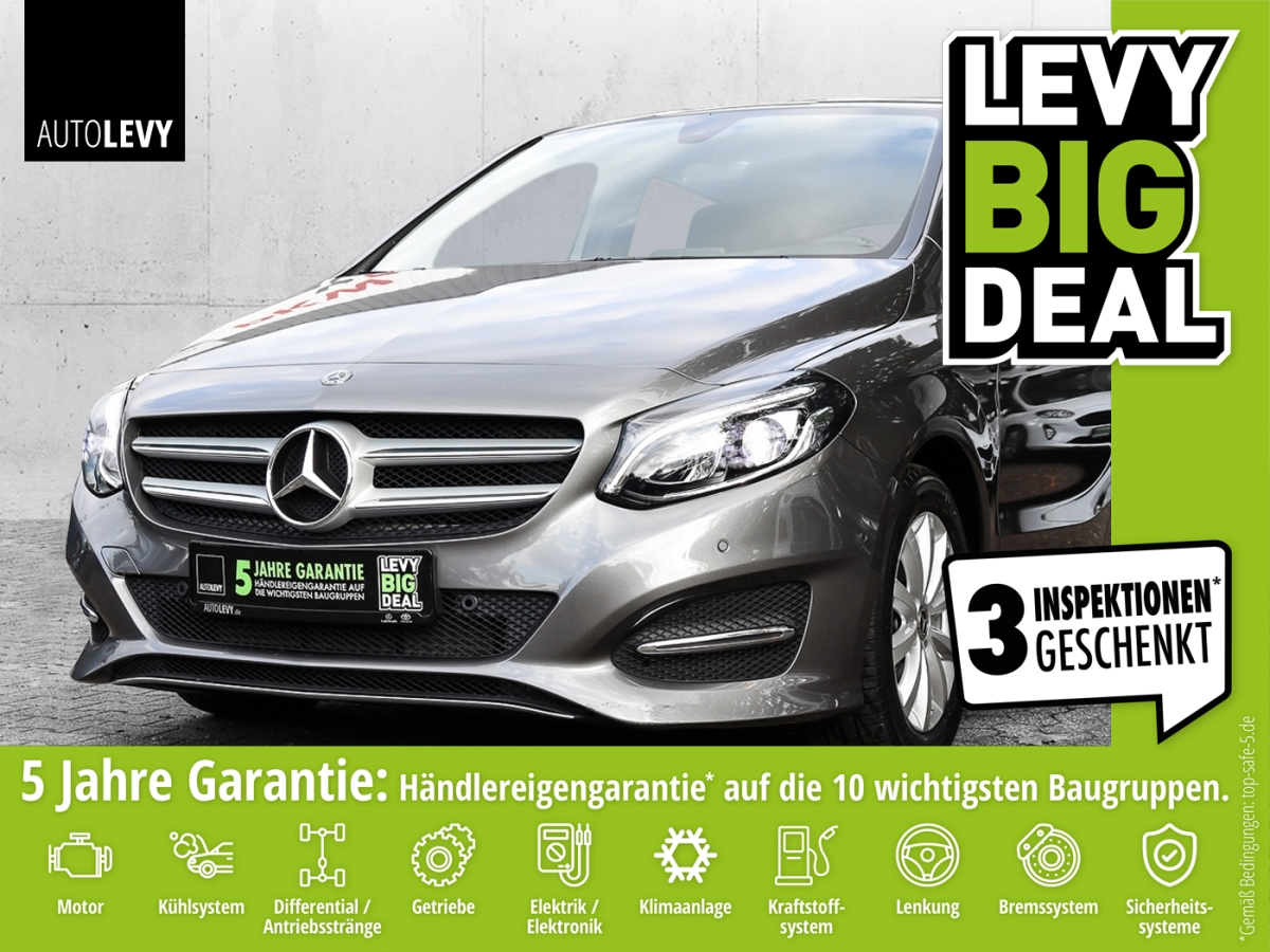 Mercedes-Benz B 180 Style *PDC*KLIMA*NAVI*LED*BT*SHZ*, Jahr 2018, Benzin