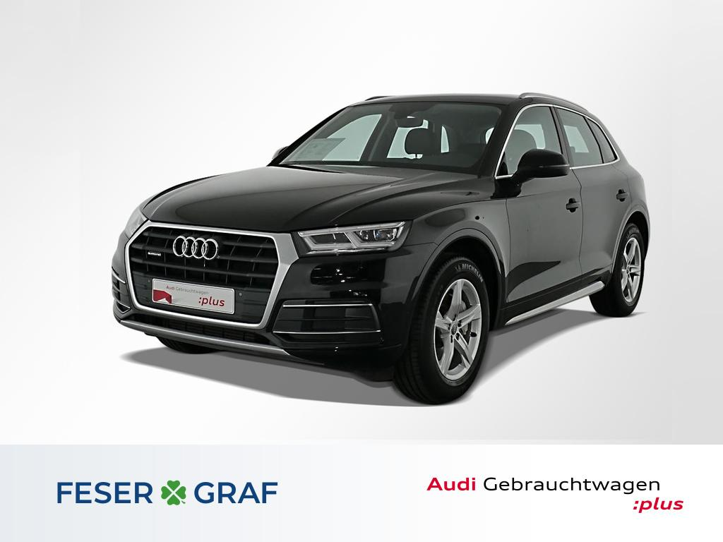 Audi Q5 sport 2.0 TFSI qu. S tronic Navi,LED,Luftfed., Jahr 2017, Benzin