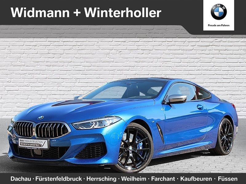 BMW M850i xDrive Coupé Night Vision HK HiFi DAB BSI, Jahr 2018, petrol