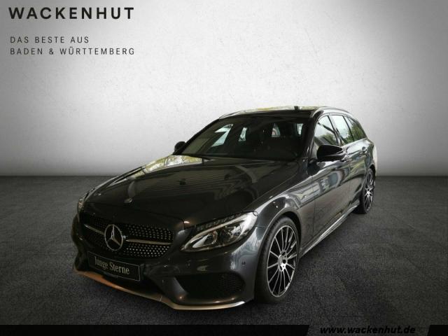 Mercedes-Benz C 43 AMG 4-M T Pano Comand Standheiz 360 -Kamera, Jahr 2016, petrol