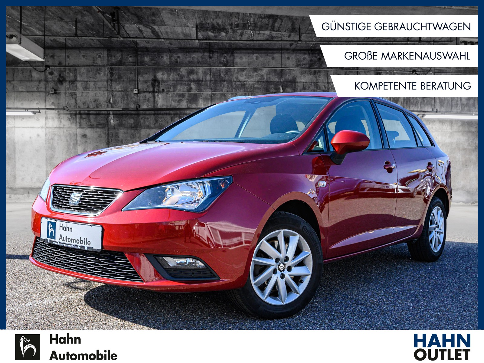 Seat Ibiza Kombi Style 1.6 TDI ST Salsa Climatr, Jahr 2014, Diesel