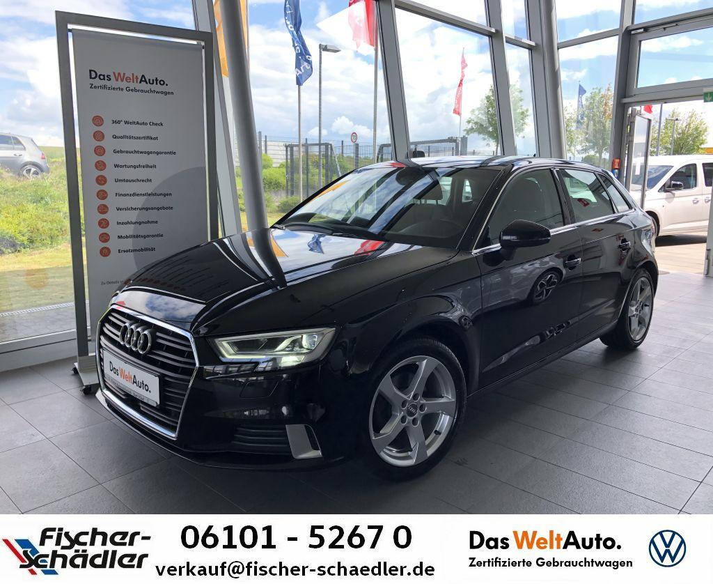Audi A3 Sportback Sport 2.0TDI*Automatik*LED*Navi*Sta, Jahr 2017, Diesel