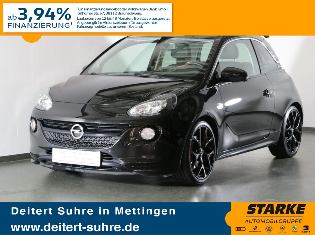 Opel Adam 1.4 Turbo S, Jahr 2018, Benzin