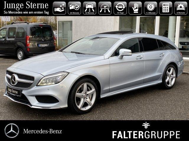 Mercedes-Benz CLS 500 4M SB AMG+DISTRO+AIR+MEMO+KEY+SOUND+360°, Jahr 2014, petrol