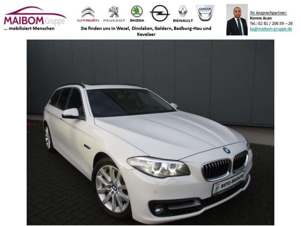 BMW 525d xDrive Touring Aut.*Pano*Head-up*Leder*Navi, Jahr 2015, Diesel