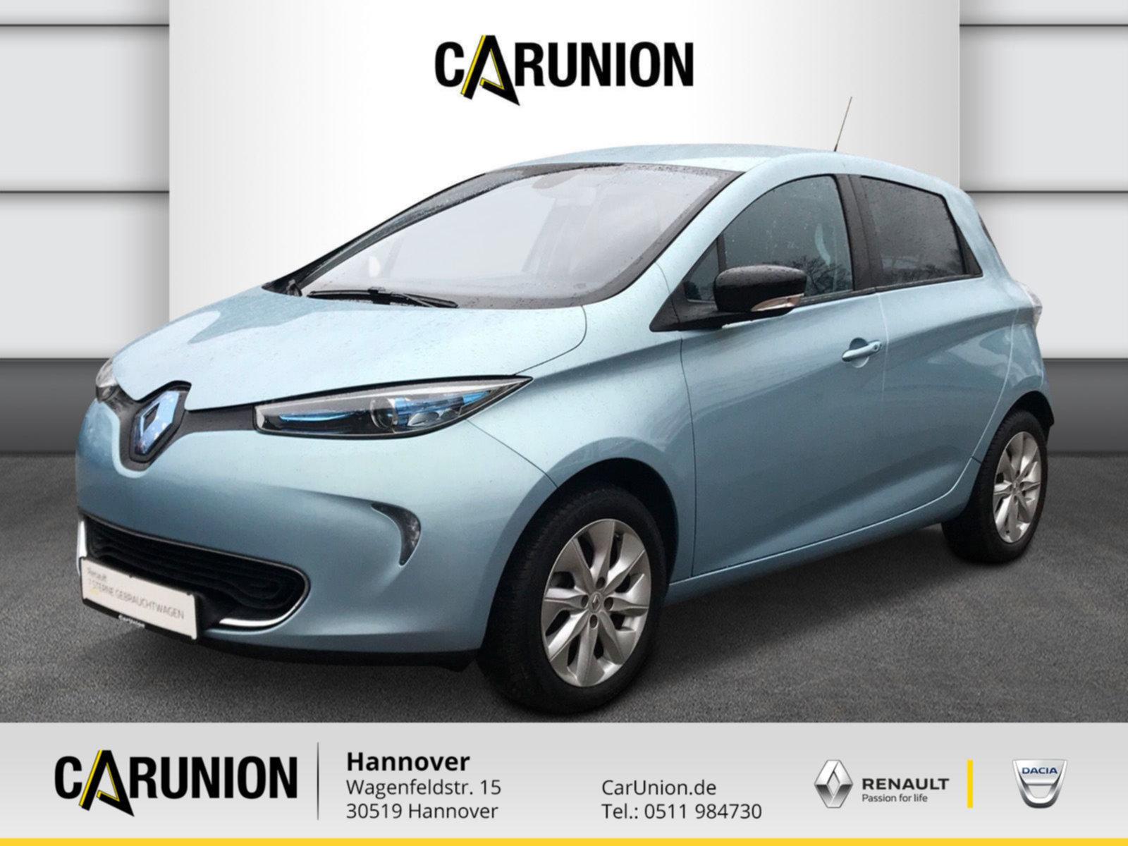 Renault ZOE INTENS R240 zzl. Batteriemiete, Jahr 2015, Elektro