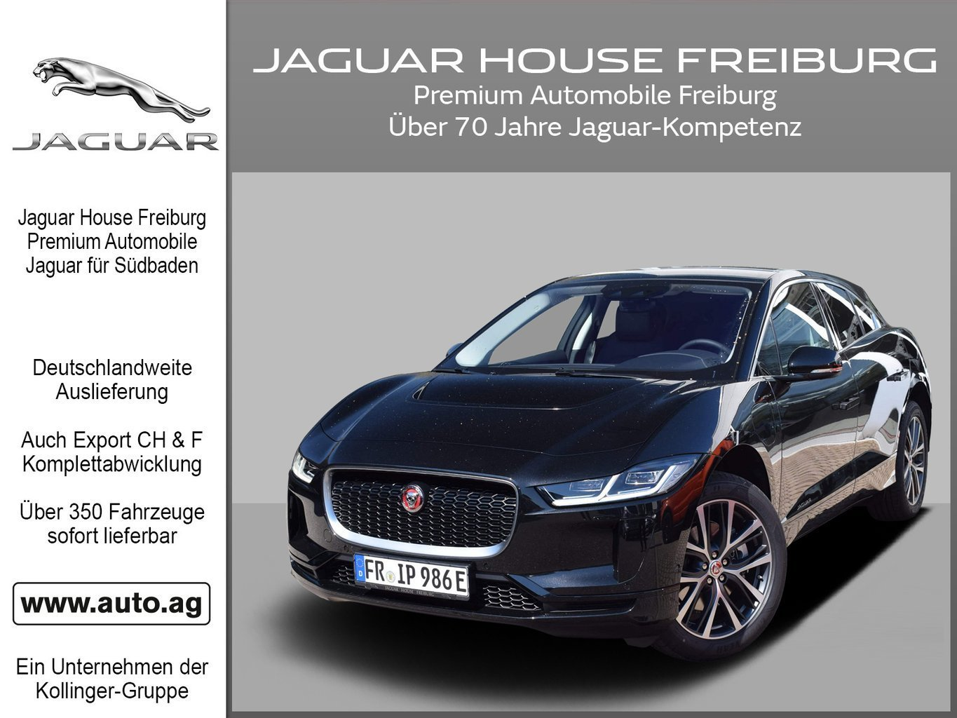 Jaguar I-Pace S PANODACH VOLLELEKTRISCH WINTER, Jahr 2019, electric