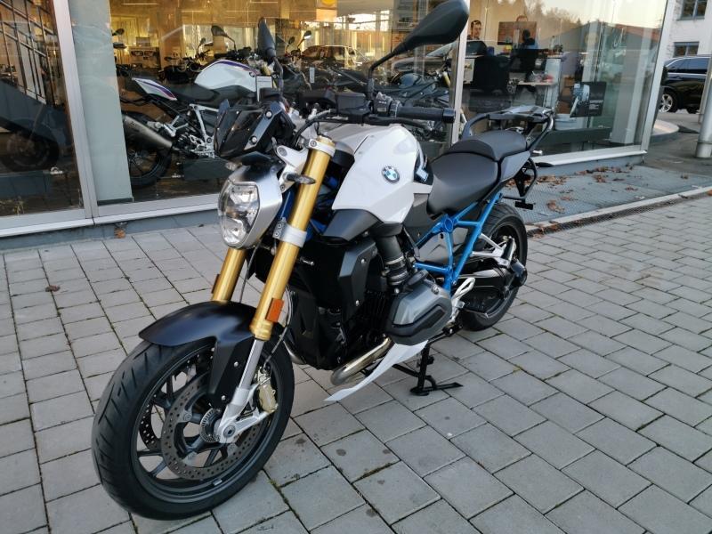 BMW R 1200 R Vollausstattung, Jahr 2019, petrol