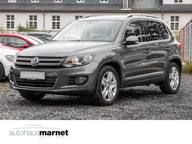 Volkswagen Tiguan 1.4 TSI CUP Sport & Style Einparkhilfe, Jahr 2014, Benzin