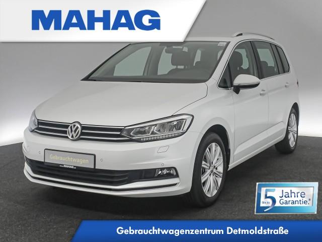 Volkswagen Touran HIGHLINE 1.5 TSI 7-Sitzer Navi LED Bluetooth FrontAssist 6-Gang, Jahr 2020, Benzin