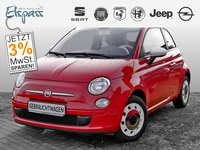 Fiat 500C SOLE Happy Birthday 1.2 8V KLIMA ESP RADIO, Jahr 2013, Benzin