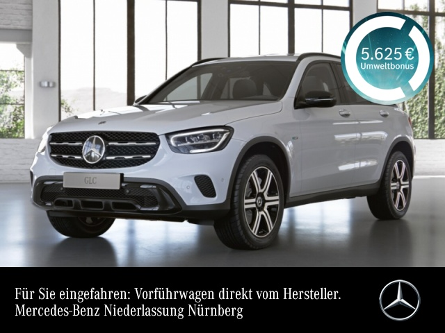 Mercedes-Benz GLC 300 de 4M Night+LED+Kamera+Spur+Totw+Keyless, Jahr 2020, Hybrid_Diesel