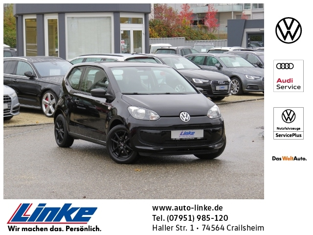 Volkswagen up! take 1.0 LM-Felgen/CD-Radio/1. Hand KLIMA A, Jahr 2013, Benzin