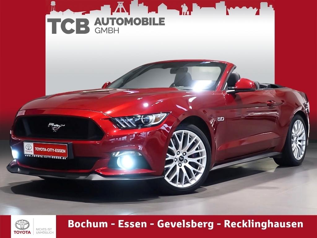 Ford Mustang CABRIO GT 5.0 V8 AUT. Premium Paket NAVI, Jahr 2017, Benzin