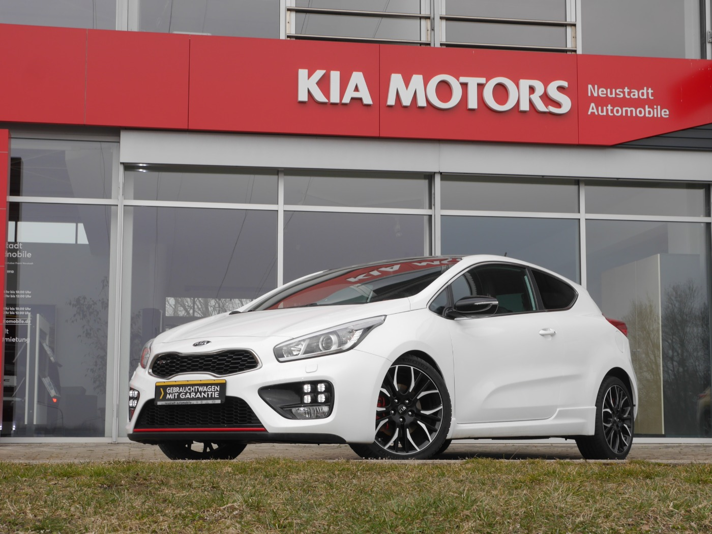Kia Pro cee'd-GT-1st-Edition Track Nr.: 91/500 Xenon, Jahr 2014, Benzin