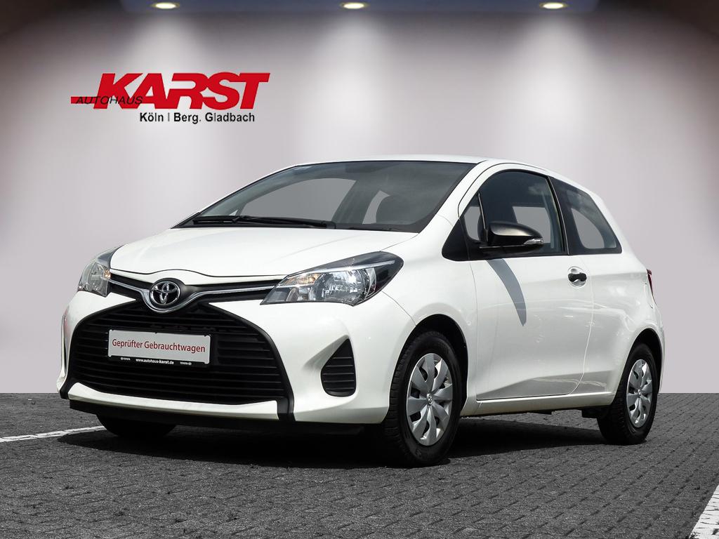 Toyota YARIS 3-TÜRER. 1.0-L-VVT-I Klima Radio CD, Jahr 2015, Benzin