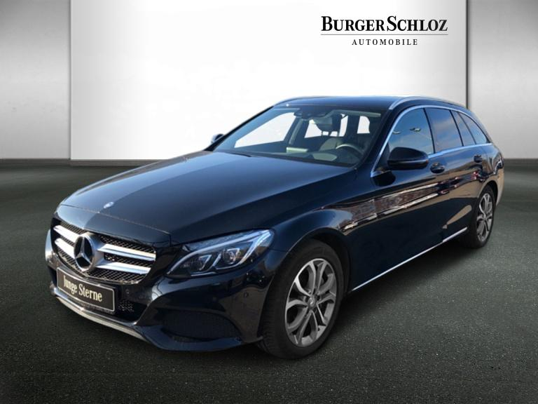 Mercedes-Benz C 250 d T-Modell Avantgarde/Burmester/HUD/LED, Jahr 2016, Diesel