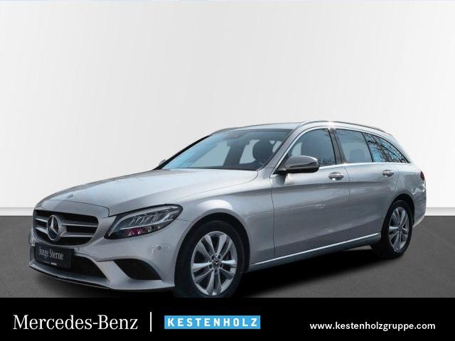 Mercedes-Benz C 300 T AVANTG LED+KAMERA+PTS+NAVI+SITZHZG+9G, Jahr 2018, Benzin