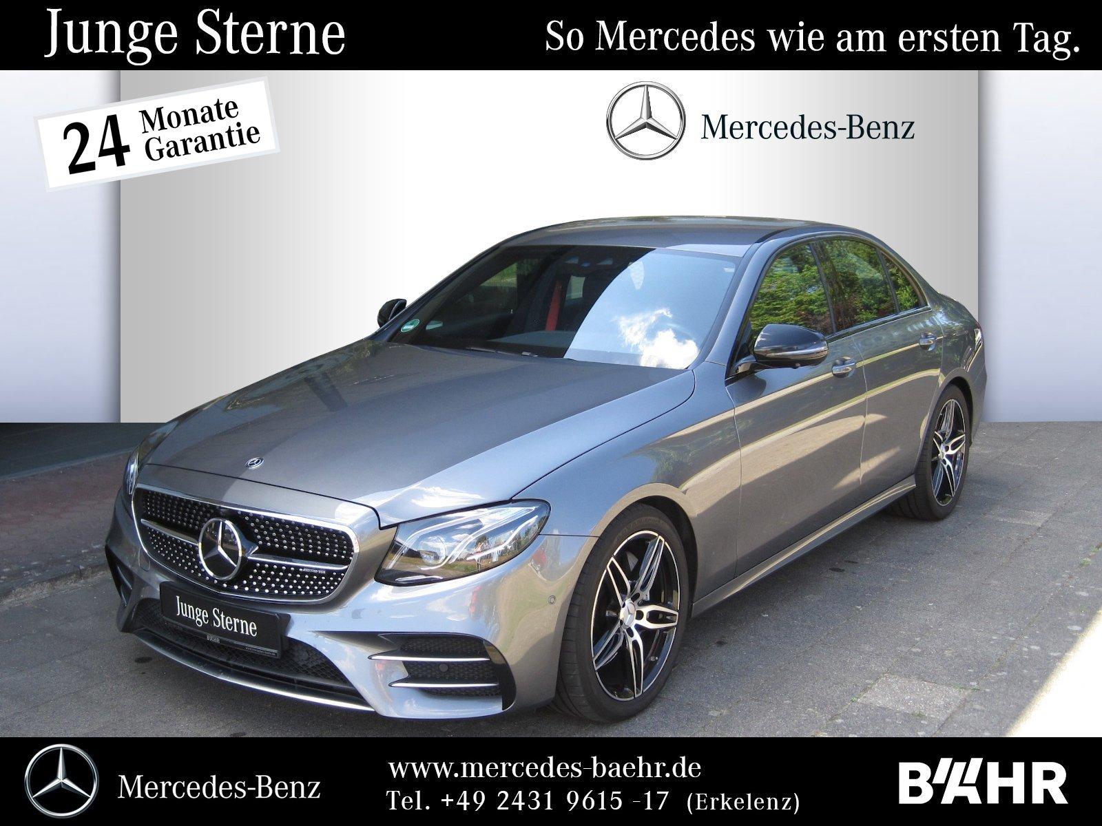 "Mercedes-Benz E 43 AMG 4M Comand/Multibeam/360°/Distronic/19"", Jahr 2018, petrol"