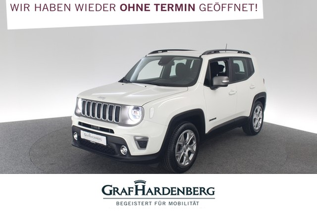 Jeep Renegade 1.0 T-GDI Limited FWD Navi Einparkhilfe, Jahr 2019, Benzin