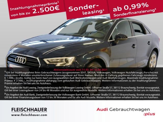 Audi A3 30 TDI NAVI+XENON+SHZ+PDC+DAB+Sound+4-Season+USB, Jahr 2019, Diesel