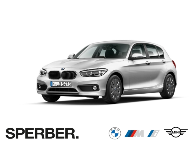 BMW 120 i,Navi,LED,Keyless,PDC,Sitzhzg,Tempomat,Klimaauto,Parkassistent,uvm., Jahr 2018, Benzin