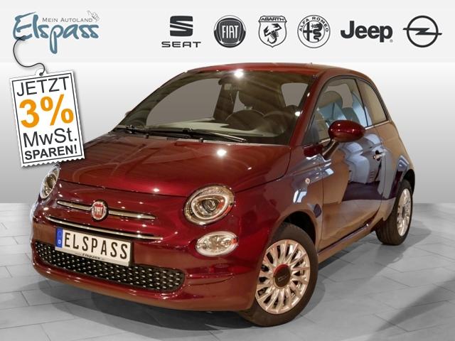 Fiat 500 Lounge 4J.GARANTIE KLIMA PDC 7''TOUCH ALU, Jahr 2019, Benzin