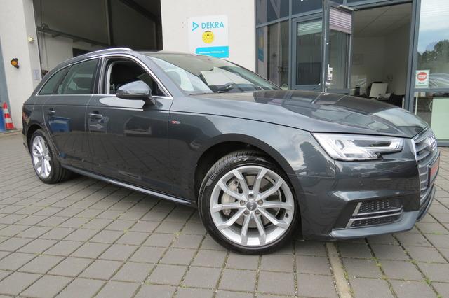 Audi A4 Avant 2.0 TFSI quattro S Line Led/Virtual/18Z, Jahr 2017, Benzin