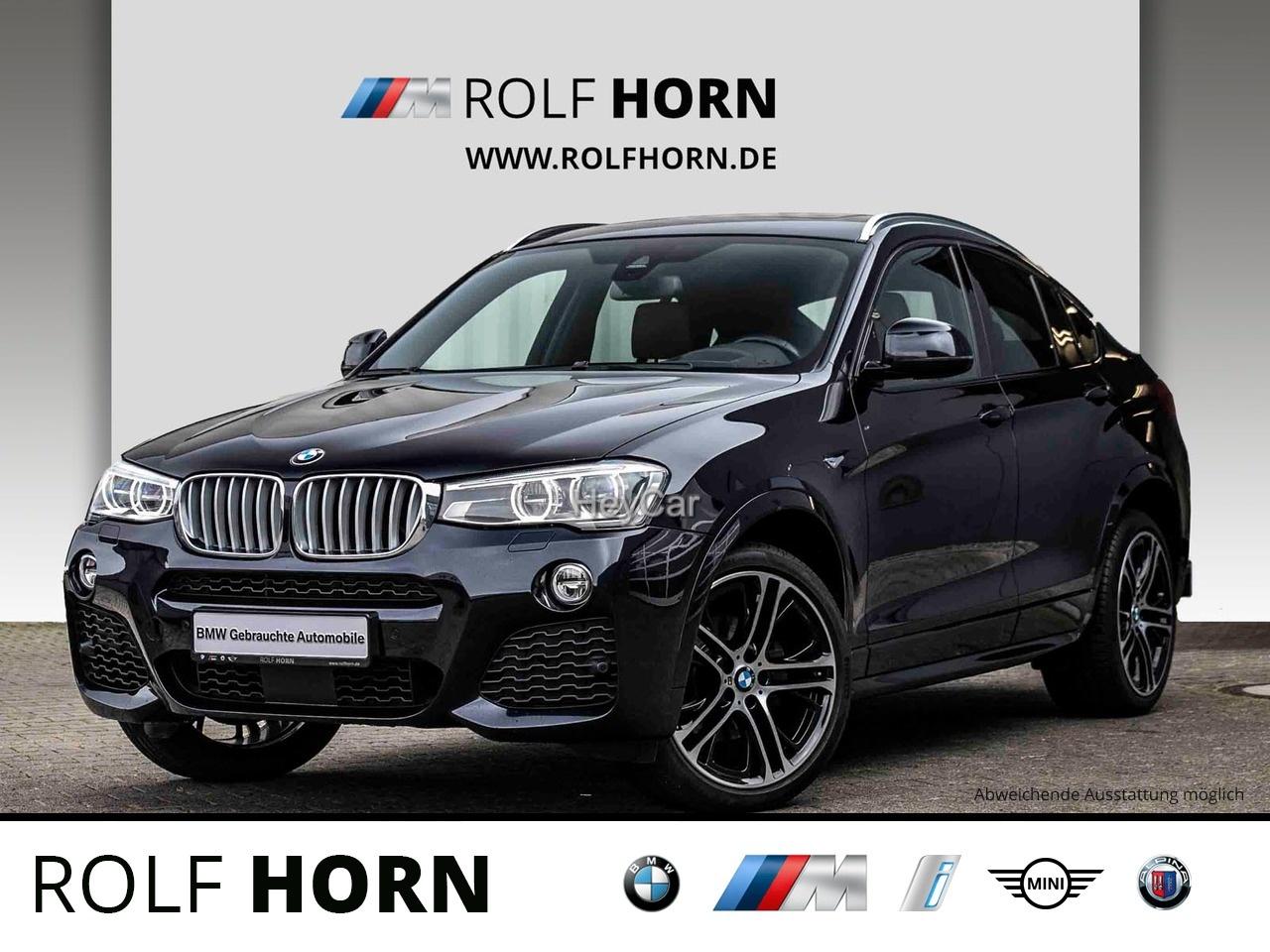 BMW X4 xDrive35dA M Sportpaket Navi AHK Glasdach HUD, Jahr 2016, Diesel
