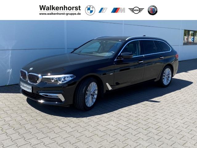 BMW 540 i xDrive Luxury Line Touring Leder Klimasitze e-Sitze Rückfahrkam., Jahr 2018, Benzin