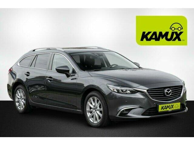 Mazda 6 2.2 TD Automatik Exclusive-Line+LED+Navi+DAB, Jahr 2016, Diesel