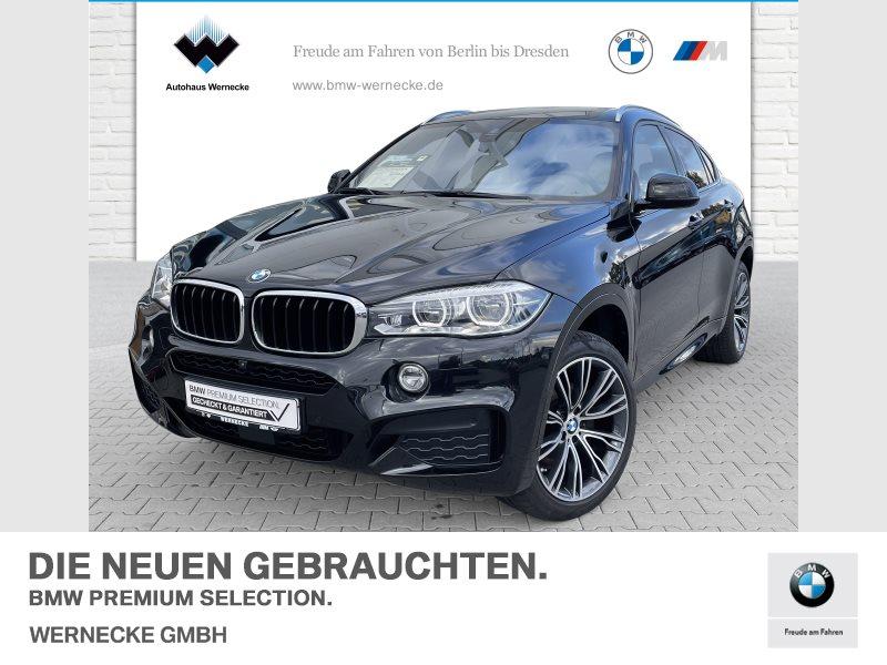 BMW X6 xDrive30d M Sportpaket Head-Up B&O HiFi DAB, Jahr 2018, Diesel