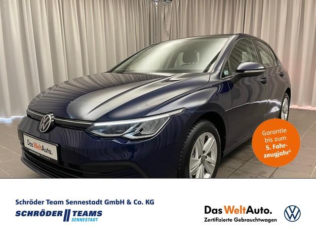 Volkswagen Golf VIII 1.5 TSI Life, Jahr 2020, Benzin
