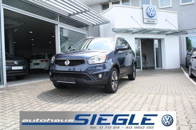 Ssangyong Korando 2.0 e-XDi 4WD Sapphire Allrad Leder Aktionspreis !!!, Jahr 2014, Diesel