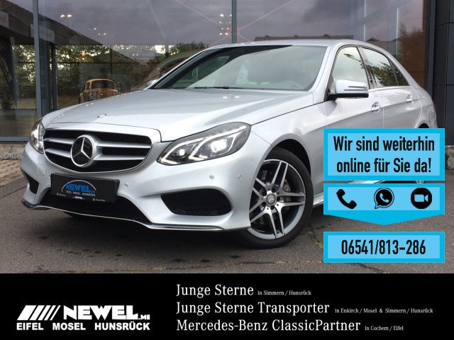 Mercedes-Benz E 350 4M *AMG*AHK*DISTRONIC*LED*AIRMATIC*TOTW*, Jahr 2014, Benzin