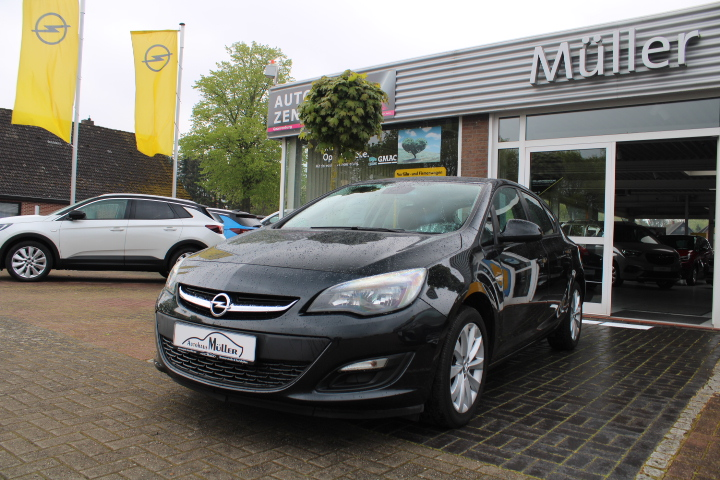 Opel Astra 1.4 Turbo Edition, Jahr 2013, Benzin