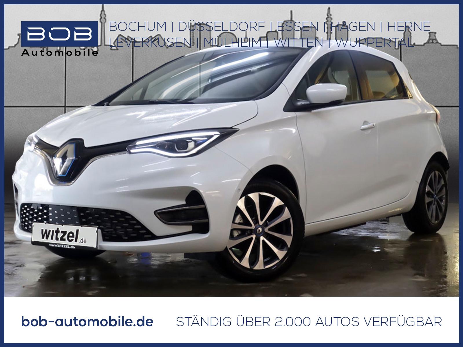 Renault ZOE INTENS Batteriemiete R135 Z.E. 50 NAVI SHZ P, Jahr 2021, Elektro