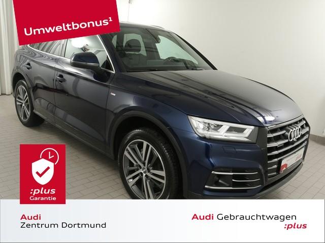 Audi Q5 55TFSIe qu. S line/Matrix/Pano/ACC/Stadt/B+O, Jahr 2020, Hybrid