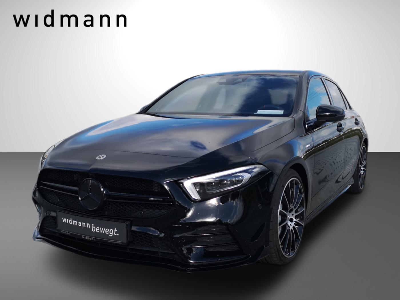 Mercedes-Benz A 35 AMG 4M *Burmester*360°*Multibeam*MBUX Augm., Jahr 2019, Benzin