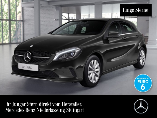 Mercedes-Benz A 200 d Style LED Kamera Navi PTS 7G-DCT Sitzh, Jahr 2017, Diesel