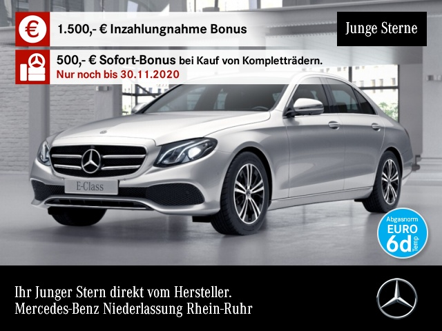 Mercedes-Benz E 220 d Avantgarde Memory.LED. KofferdeckelKomf., Jahr 2019, Diesel