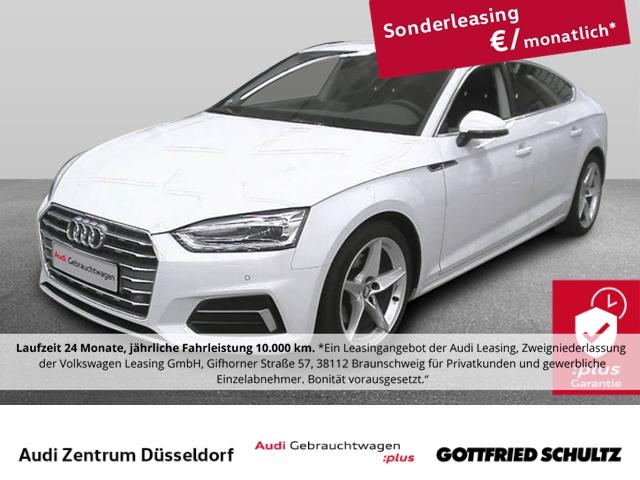 Audi A5 Sportback 40 TFSI Sport S-tronic Audi Anschlussgarantie bis zum 19.03.2024 o. 100.000 Km, Jahr 2019, Benzin