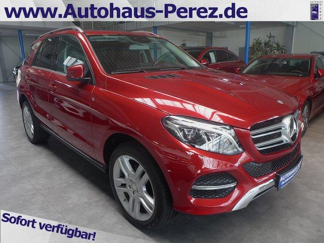 Mercedes-Benz GLE 250 d 4M 9-G STAND HZ-AHK-360°-COMAND-ILS-SD, Jahr 2017, diesel