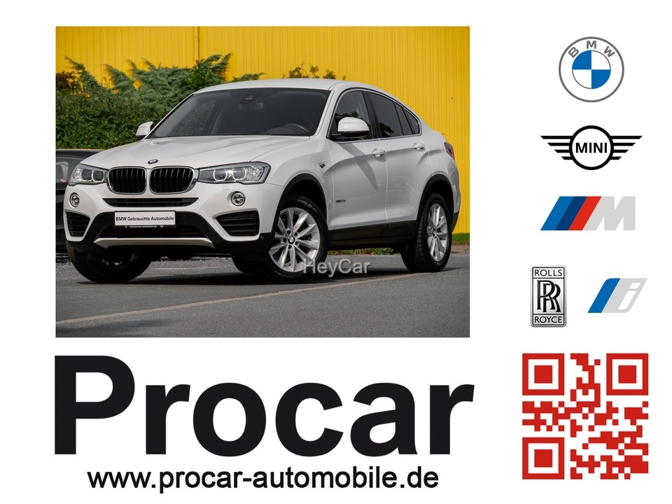 BMW X4 xDrive20d Navi Business Klimaaut. Head-Up PDC, Jahr 2015, Diesel