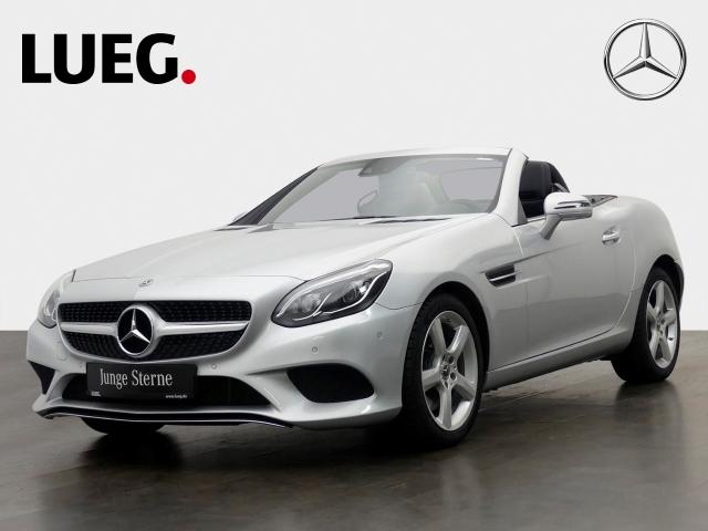 Mercedes-Benz SLC 200 Navi+PTS+SHZ, Jahr 2018, petrol