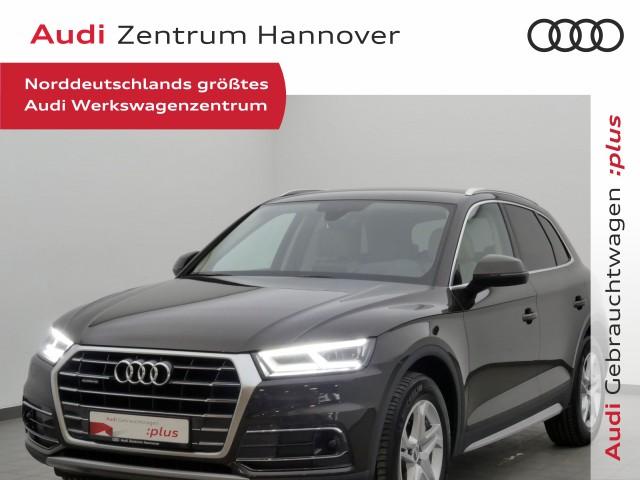 Audi Q5 2.0 TDI design HuD Matrix virtual AHK Leder DAB, Jahr 2017, Diesel