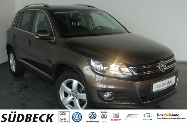 Volkswagen Tiguan 1.4 TSI SPORT&STYLE+NAVI+KLIMAAUTO+TEMPOMAT+SHZ, Jahr 2012, Benzin