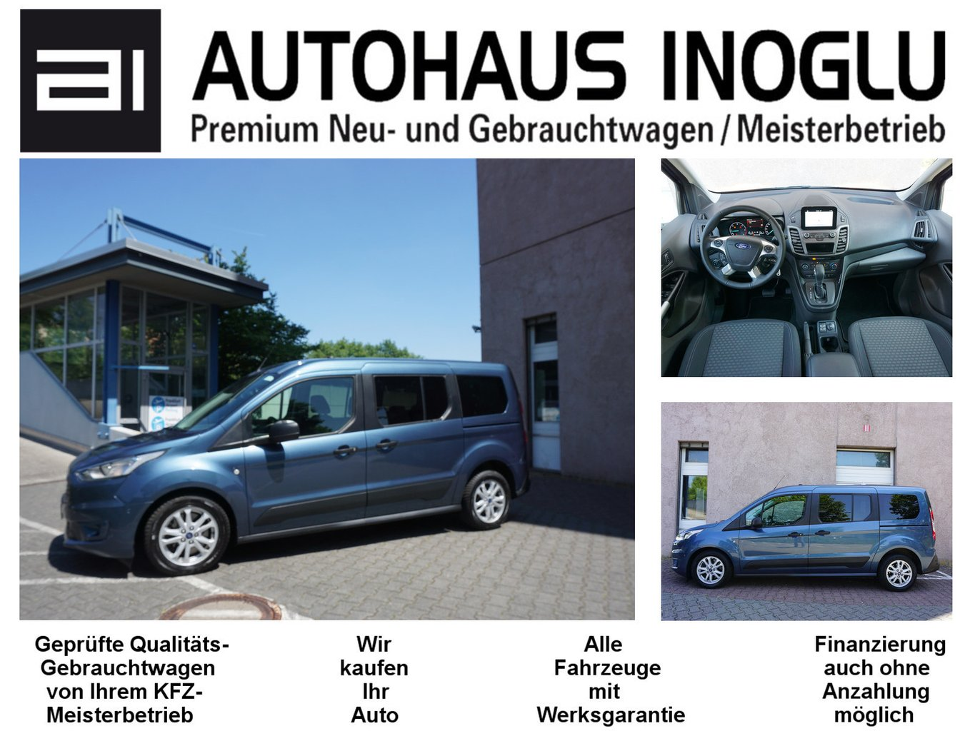 Ford Grand Tourneo Connect 1.5 Aut.7Sitz Navi E6dTemp, Jahr 2019, Diesel